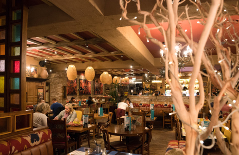 Chiquito restaurant interior
