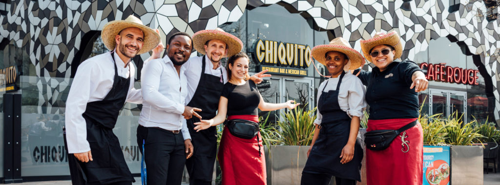 Chiquito's employees fundraising for charity