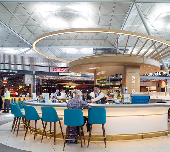 TRG Concessions airport bar