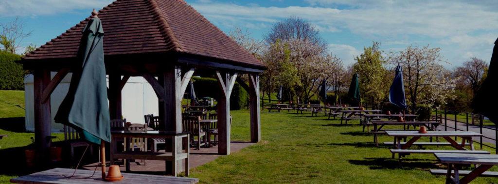 brunning and price pub garden