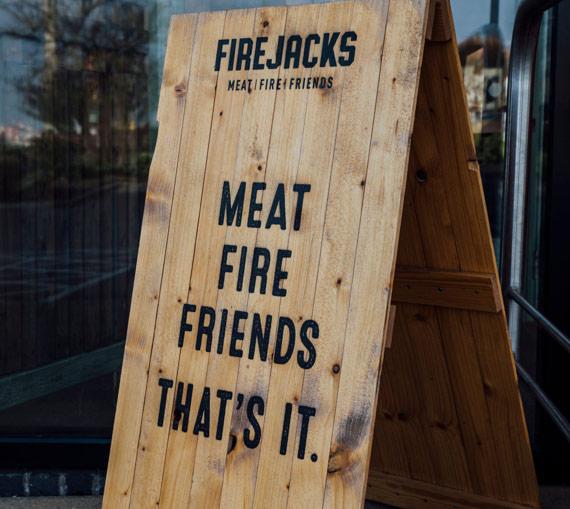 Meat, Fire, Friends, That's it.