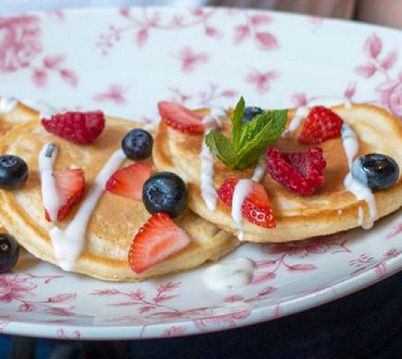 Joe's Kitchen Pancakes