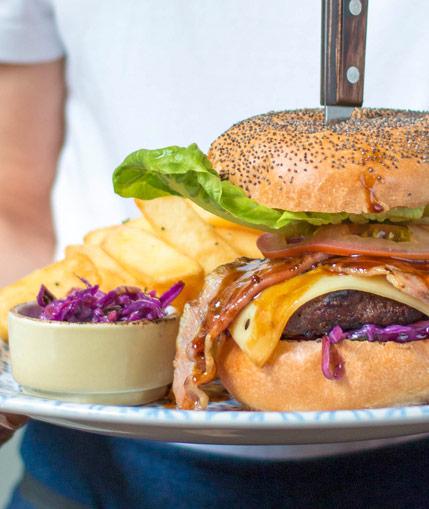 Joe's Kitchen Burger
