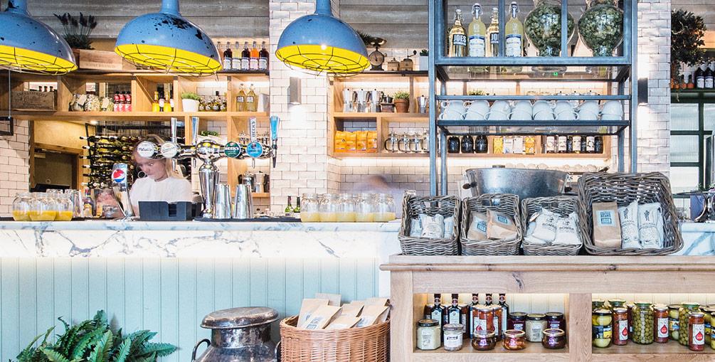 Joe's Kitchen Kitchen Area