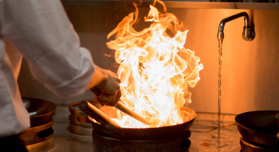 inside the wagamama's kitchens